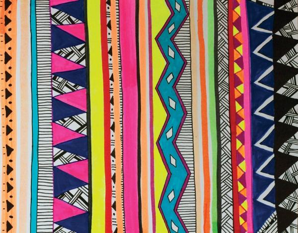 motif tribal trend